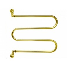 Margaroli Vento 400 GOLD Полотенцесушитель водяной, золото