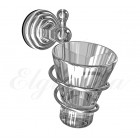 Elghansa Praktic PRK-413 CR Держатель стакана стекло , хром