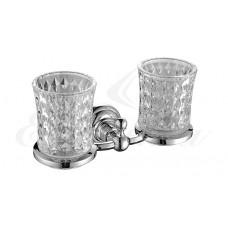 Elghansa Praktic PRK-422 CR Держатель стаканов двойной стекло , хром
