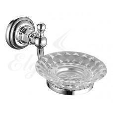 Elghansa Praktic PRK-452 CR Держатель мыльницы стекло , хром
