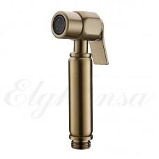 Elghansa BG-09-Bronze Лейка для биде с держателем , бронза