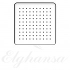 Elghansa MQ-720 Верхний душ, квадратный , SoftLine, нержавеющая сталь
