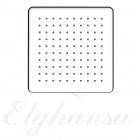 Elghansa MQ-725 Верхний душ, квадратный , SoftLine, нержавеющая сталь