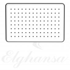 Elghansa MQ-732 Верхний душ, прямоугольный , SoftLine, нержавеющая сталь