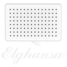 Elghansa MQ-732 Верхний душ, прямоугольный , SoftLine, белая
