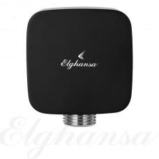 Elghansa Hose Outlet WS-7M Black Подключение для душевого шланга 1/2, черный