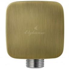 Elghansa Hose Outlet WS-7M Bronze Подключение для душевого шланга 1/2, бронза