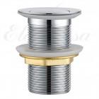 "Elghansa Waste Systems WBT-111 Донный клапан 1 1/4"" для раковины без перелива Click-Clack, RoundLine, хром"