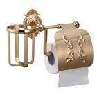 Hayta Classic Gold 13903-3B/GOLD Бумагодержатель с крышкой, золото