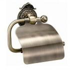 Hayta Classic Bronze 13903-4/BRONZE Бумагодержатель с крышкой, бронза
