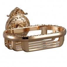 Hayta Classic Gold 13904/GOLD Мыльница с настенным креплением, золото