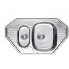 Kaiser KSS-8547 Мойка кухонная (849x472x220), нержавеющая сталь
