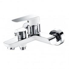 Kaiser Glory 69122 Смеситель для ванны, хром/белый