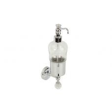 Migliore Amerida ML.AMR-60.407.CR Дозатор жидкого мыла настенный, стекло, Swarovski, хром