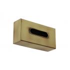 Migliore Complementi ML.COM-50.111.BR Контейнер Kleenex для салфеток 25,5x13x7h cm., бронза