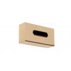 Migliore Complementi ML.COM-50.111.DO Контейнер Kleenex для салфеток 25,5x13x7h cm., золото