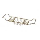 Migliore Complementi ML.COM-50.170.BR Полка-решетка на ванну Р12хL66-105хР19cm., бронза