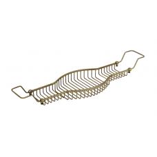 Migliore Complementi ML.COM-50.173.BR Полка-решетка на ванну овальная Н6хL80-100хР22cm., бронза