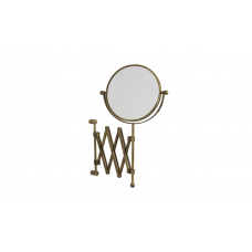 Migliore Complementi ML.COM-50.319.BR Зеркало оптическое настенное пантограф (3х) Н40хP48,D18cm., бронза
