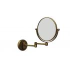 Migliore Complementi ML.COM-50.331.BR Зеркало оптическое на шарнирах d18хh25x42 см. (3X), бронза