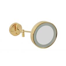 Migliore Complementi ML.COM-50.336.DO Зеркало оптическое с галогеновой подсветкой на шарнирах d22хh22x42 см. (3X), золото