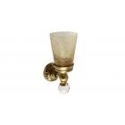 Migliore Cristalia ML.CRS-60.202.BR Cтакан настенный, crackle стекло/SWAROVSKI, бронза