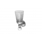 Migliore Cristalia ML.CRS-60.202.CR Cтакан настенный, crackle стекло/SWAROVSKI, хром