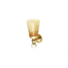 Migliore Cristalia ML.CRS-60.202.DO Cтакан настенный, crackle стекло/SWAROVSKI, золото