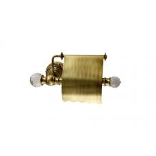Migliore Cristalia ML.CRS-60.206.BR Бумагодержатель закрытый (с крышкой), SWAROVSKI, бронза