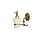 Migliore Edera ML.EDR-60.307.BR Дозатор жидкого мыла настенный, керамика, бронза
