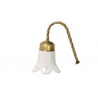 Migliore Edera ML.EDR-60.331.BR Светильник для зеркала, керамика, бронза