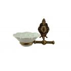 Migliore Elisabetta ML.ELB-60.101.BR Мыльница настенная, керамика, бронза