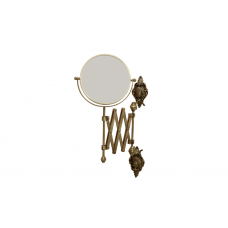 Migliore Elisabetta ML.ELB-60.119.BR Зеркало оптическое пантограф D18xH40xP60 см. (3Х) настенное, бронза