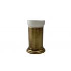 Migliore Mirella ML.MRL-4410.BR Cтакан настольный, керамика, бронза