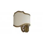 Migliore Mirella ML.MRL-LP12.BR Светильник настенный H25хL20хP20 cm, ткань, бронза