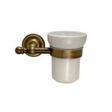 Migliore Mirella ML.MRL-M060.BR Cтакан настенный, керамика, бронза