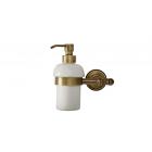 Migliore Mirella ML.MRL-M068.BR Дозатор жидкого мыла настенный, керамика, бронза