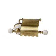 Migliore Provance ML.PRO-60.506.BR Бумагодержатель закрытый (с крышкой), керамика с декором, бронза