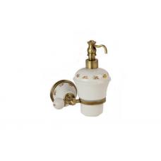 Migliore Provance ML.PRO-60.507.BR Дозатор жидкого мыла настенный, керамика с декором, бронза