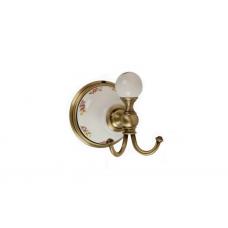 Migliore Provance ML.PRO-60.509.BR Крючок, керамика с декором, бронза