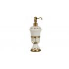 Migliore Provance ML.PRO-60.517.BR Дозатор жидкого мыла настольный, керамика с декором, бронза