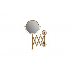 Migliore Provance ML.PRO-60.519.BR Зеркало оптическое пантограф D18xH40xP60 см. (3Х) настенное, керамика с декором, бронза