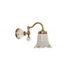 Migliore Provance ML.PRO-60.531.BR Светильник настенный, плафон керамика с декором, бронза