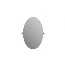 Migliore Provance ML.PRO-60.533.BR Зеркало овальное H80xL50 см, керамика с декором, бронза