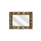 Migliore CDB ML.COM-70.502.BR Зеркало прямоугольное ажурное h75x95x3 cm, бронза
