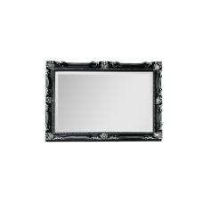 Migliore CDB ML.COM-70.504.NR.AG Зеркало прямоугольное h62xL82xP5,5 cm., черный/декор серебро