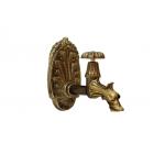 Migliore Artistica ML.ART-0139.BR Кран садовый (дракон) декоративный, с большой панелью, бронза