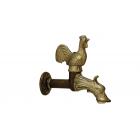 Migliore Artistica ML.ART-0182.BR Кран садовый (петух) декоративный, с малой панелью, бронза