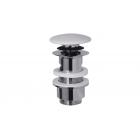 "Migliore Ricambi ML.RIC-10.121.CR Донный клапан ""click-clack""  1""1/4  под перелив, керамика, хром"