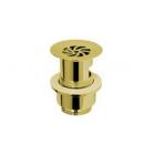 "Migliore Ricambi Daisy ML.RIC-10.124.DO Слив для раковины d-63 mm 1""1/2  под перелив с решёткой, золото"